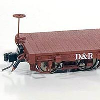 AMS D&RGW 6000-Series Flat Car