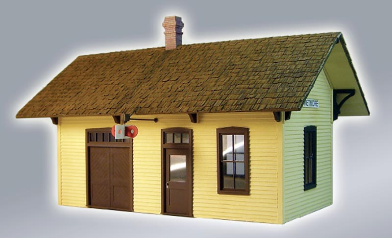 Scratchbuild a Country Depot in Six Steps