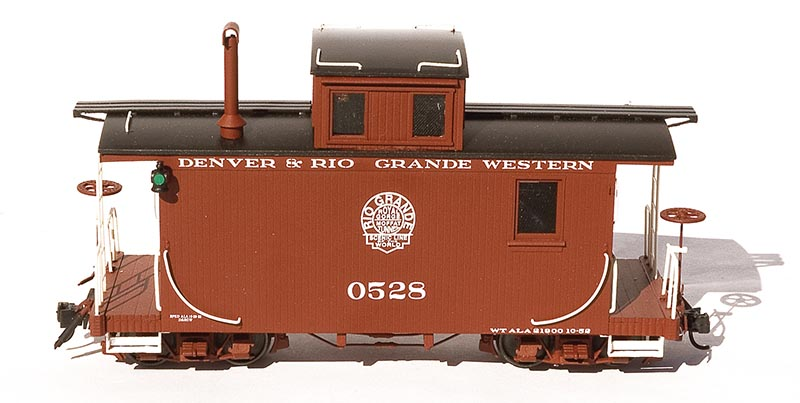 AMS On3/On30 D&RGW Short Caboose